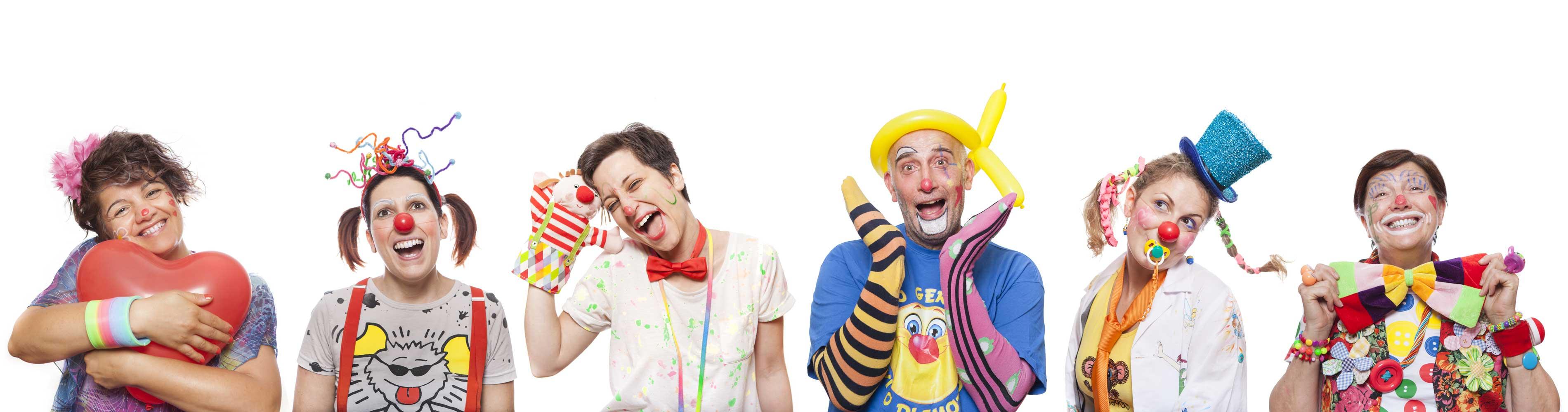 Clown Sociali associazione Stringhe Colorate Como